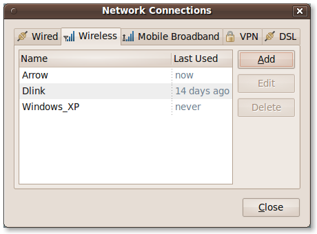 Finish Network Connections