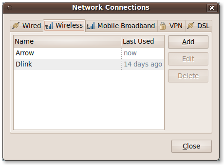 Start Network Connections