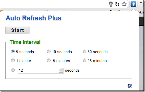 Auto Refresh Plus Chrome
