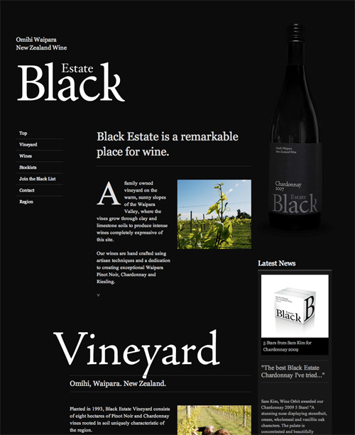 Black Estate Vineyard на 960gs