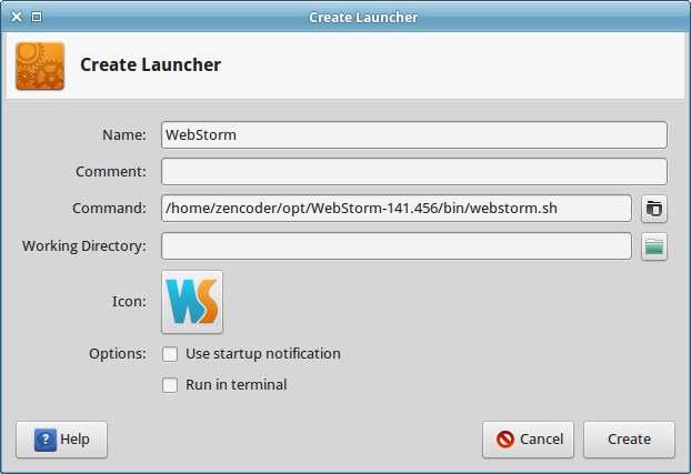 Create Launcher Ready